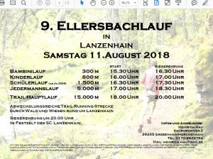 Ellersbachlauf 2018