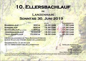 Ausschreibung Ellersbachlauf
